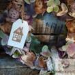 Házikós kopogtató koszorú