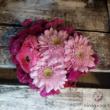 Szív virágdoboz