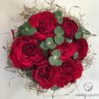 Vörös rózsa doboz