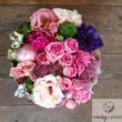 Virágdoboz vegyes virágokból