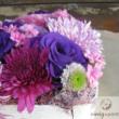 Virágdoboz lila