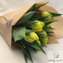 Tulipáncsokor magyar termelőtől
