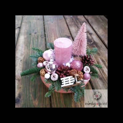 Rózsaszín karácsony