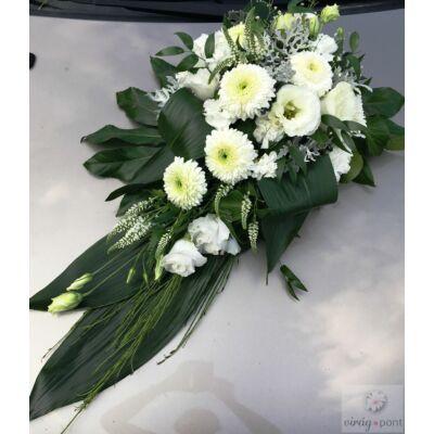 Esküvői autódísz I.