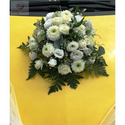 Esküvői autódísz II.